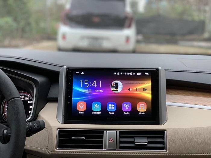 Màn hình DVD Bravigo xe Mitsubishi Xpander