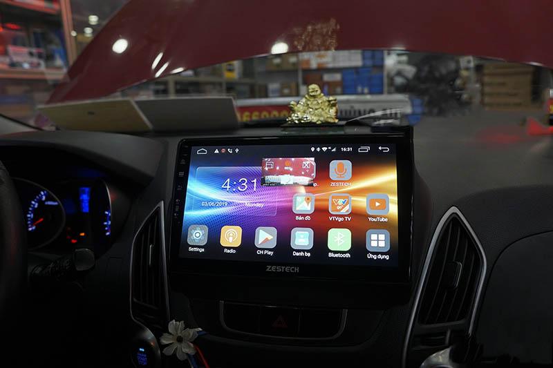 Màn hình Android Zestech theo xe Tucson 2018